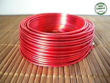 4 mt Filo Alluminio Modellabile di 2mm color Rosso Tecnica Wire Bigiotteria