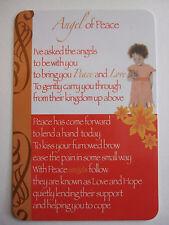 "Pocket Keepsake Messages "" Angel of Peace "" Wallet/ Purse Card Envelope"