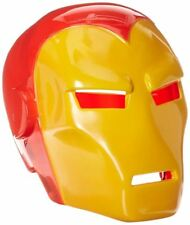 Marvel Comics Iron Man 2 Piece Helmet Mask Fancy Dress Accessory
