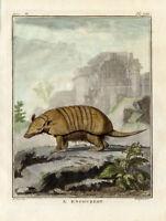 Rare large QUARTO edition hand colored engraving circa 1766 De Seve Le Grand Befroi