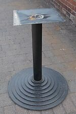 Round Cast Table Base  24 Inch Diameter 28 inch high