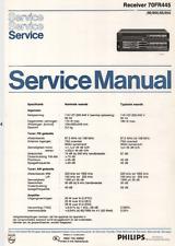 PHILIPS 70FR445 00 / 00X / 05 / 05X Schematic Diagram Service Manual Schaltplan