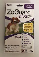ZoGuard Plus for Dogs 23-44 pound (3 Month Pack) Kills Fleas & Ticks