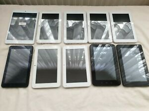 Job Lot 10 x Tablets UNTESTED FAULTY SPARES REPAIRS