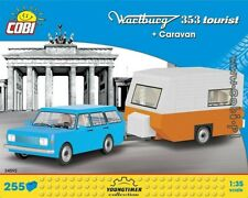 COBI Wartburg 353 Tourist + Caravan  / 24592 / 255 blocks  toys  auto  car  ..