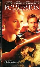 POSSESSION  una storia romantica (2002) - VHS Warner  Gwyneth Paltrow