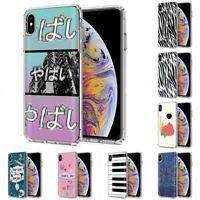 Thin Gel Design Protective Phone Case Cover for Apple iPhone Xs MAX,Yabai Print