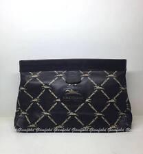 Authentic VINTAGE LONGCHAMP™ SOFT LEATHER TOILETRIES CLUTCH POUCH BAG