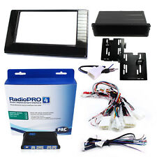 Radio Replacement Interface w/ Dash Kit Single/Double-DIN & Antenna For Corolla