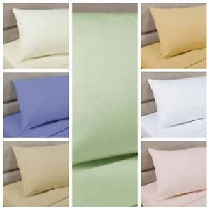 "Bedding Heaven® 2' 6"" Percale Fitted Sheet. Bunk Bed, Small Single, Caravan Bed."