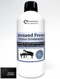 500ml Hochglanz Schellackpolitur Klavierlack Schellack Schelllackpolitur Lack