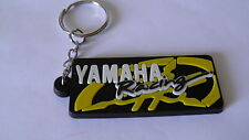 Portachiavi Yamaha R1 R6 TMAX YZF nuovo (nero logo giallo)