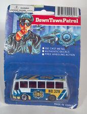"DD 3"" Down Town Patrol Police Bus Prisoner Transport No 328 Die Cast Scale Model"