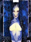 OLIVIA DE BERARDINIS NUDE BELLA DONNA FRAMED LIMITED EDITION GICLEE AUTO SIGNED