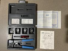 Amp Termintaion Tool 1 231666 1 Complete Set Perfect Condition