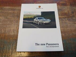Nice D'Occasion Original Véritable 2009 Porsche Panamera Sales Brochure W Color
