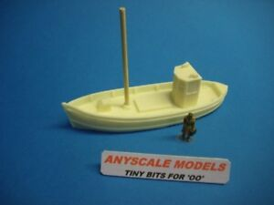 OO/4mm Model railway, model boat. Small fishing boat. Scottish MFV. (084)