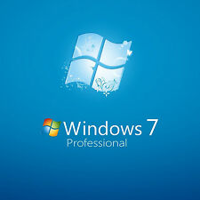 Original windows 7 pro 32/64BIT oem véritable clé de licence ferraille pc