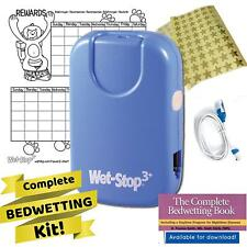 Child Toilet Training,Wet-Stop 3 Bedwetting 6 Alarms & Vibration Kids Boys Girls