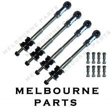 "4 Front & Rear Extended Sway Bar Link Rod Pins Nissan Patrol GQ Y60 2""-8"" Lift 1"