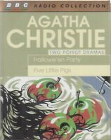 Agatha Christie Five Little Pigs Hallowe'en Party 2 Cassette Audio Book Drama