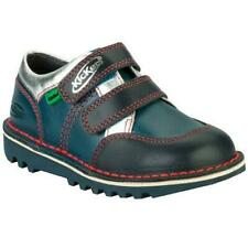 KICKERS Boy's Kick Spacer Shoes Dark Blue/Blue Size 30 UK 12