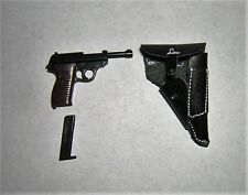 DID 3R 1/6th Scale WW2 German Officer's P38 & Holster - Sepp Dietrich