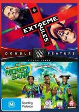 WWE EXTREME RULES/MONEY IN THE BANK 2017 - Rare DVD Aus Stock New
