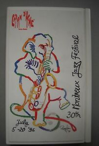 Caran d'Ache Rare Edition Montreux Jazz Festival 1996 Colour Cedar Wood Pencils