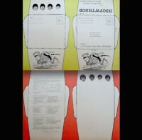 "Beatles 1964 Vintage Stationary 9x12"" Promo Pinup John Ringo George Paul EX COA"