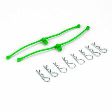 Body Clip Retainers Lime Green (2) Du-Bro Car or Truck Body Clip DUB2253