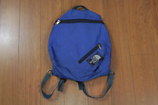 Vintage The North Face Blue Backpack Bag Made In USA Purple Label 90s