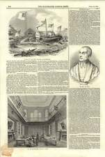 1844 New Record Room Heralds College Reverend Dr Croly Arial Steamer Rotherhithe