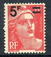 TIMBRE FRANCE NEUF N° 827 ** MARIANNE GANDON SURCHARGE
