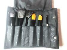 Paula Dorf 6 Brush Kit Face Eye Powder Cheek Fan Foundation Cheek Eye Contour