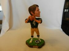 Brett Favre #4 Green Bay Packers Bobble Head Figurine LE Holding Football