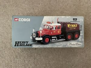 Corgi 17903 Wynns Scammell Contractor Limited Edition