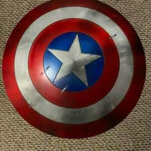 Captain America Shield-Metal Prop Replica, Marvel Captain America Steven Rogers