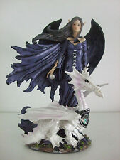 Dark Fairy/Elf  with white Dragon Fantasy - Boxed