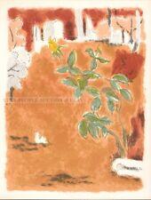 JULES CAVAILLES - LE MALENTENDU * RARE ORIGINAL LITHOGRAPH 1962