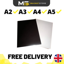 Premium Self Adhesive Magnetic Sheet Strong Flexible Fridge Magets A2 A3 A4 A5