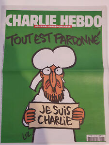 journal charlie hebdo tout est pardonné n°1178 14 janvier 2015 comme neuf