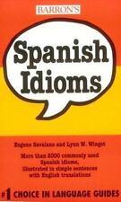 Spanish Idioms (Barron's Idioms Series)