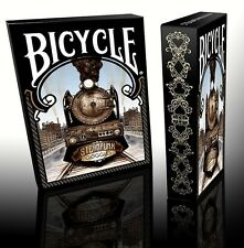Set of 2 Bicycle Steampunk Goggles Standard & Limited Edition Playing Cards New