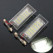 Error Free LED Luz Placa Matrícula Trasera Luces For BMW X5 E53 X3 E83 2003-2010