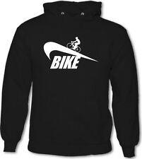 Bike - Mens Funny Hoodie Cycling Mountain BMX Racer Road Jersey Boardman