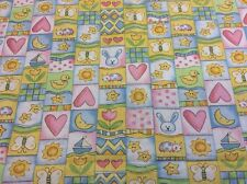 Fabri-Quilt - Party Animals - Cute Baby Fabric #100-191 - 100% Cotton - By 0.25m