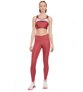 Nike Epic Fast Women's High-Rise Tight Fit Leggings Canyon Rust RRP £60 Size M