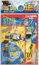 Pixar Disney Toy Story 4 Play Pack Pencils Pads Colouring Childrens Activity