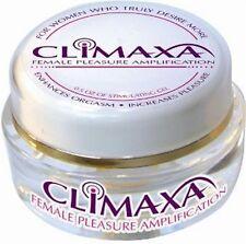 Climaxa Female Pleasure Amplification Orgasm Enhancement Stimulating Gel .5 oz